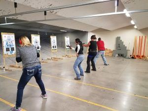 defensive fighting handgun training course